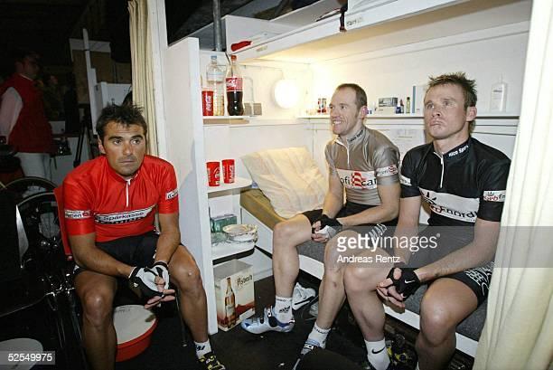 Radsport Sechs Tage Rennen 2004 Bremen Andreas KAPPES / GER Tom STEELS / BEL Mathew GILMORE 080104