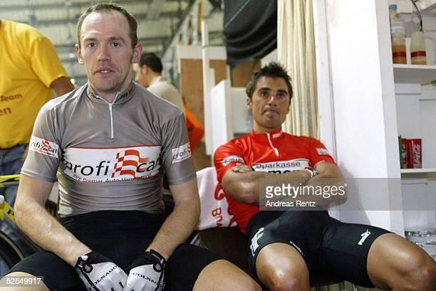Radsport Sechs Tage Rennen 2004 Bremen Tom STEELS / BEL Andreas KAPPES / GER 080104