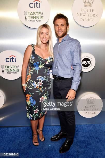 Radu Albot attends the Citi Taste Of Tennis gala on August 23 2018 in New York City