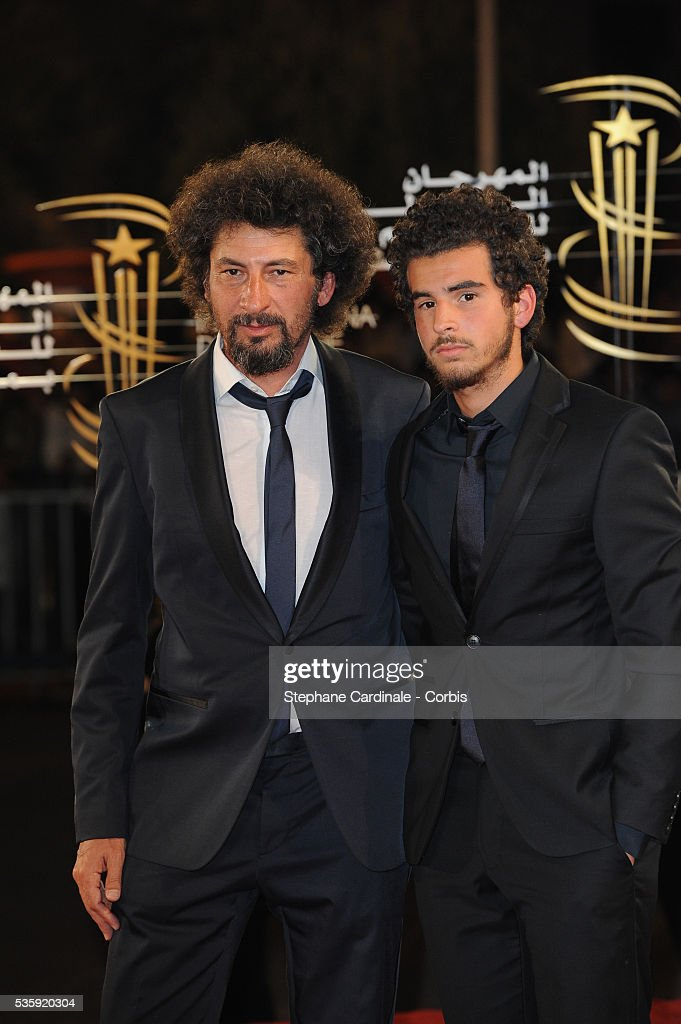 Radu Mihaileanu with his son attend the Opening Ceremony of the Marrakech 10th Film Festival.