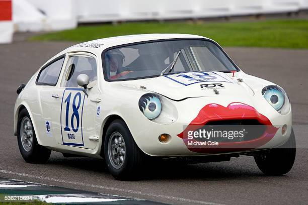 Rae Davis in a 1966 Mini Jem GT during the Fordwater Trophy Race