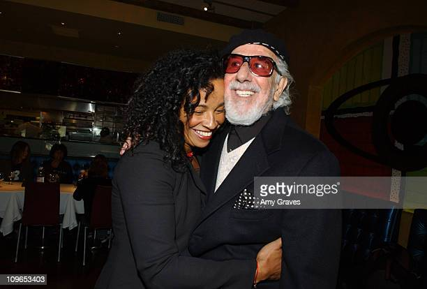 Rae Dawn Chong and Lou Adler during Lou Adler Honored with a Star on the Hollywood Walk of Fame for His Achievements in Music AfterParty at Wolfgang...