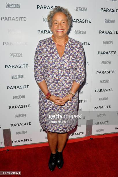 Rae Dawn Chong arrives at Neon Presents Los Angeles Premiere of 'Parasite' at ArcLight Hollywood on October 02 2019 in Hollywood California