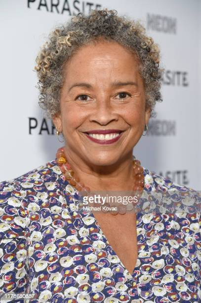 Rae Dawn Chong attends the Los Angeles Premiere of Parasite on October 02 2019 in Hollywood California