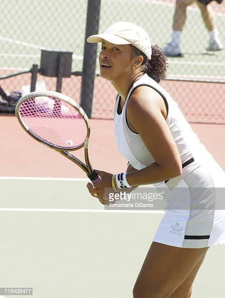 Rae Dawn Chong during Racquet Rumble 2005 Benefit For Bogart Pediatric Cancer Research at Riviera Country Club in Pacific Palisades CA United States