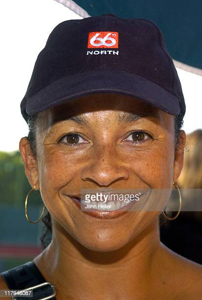 Rae Dawn Chong during The Cystic Fibrosis 19th Annual Celebrity Tennis Tournament To Fund Research Toward A Cure at Manhattan Country Club in...