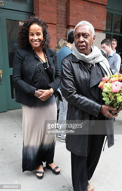 Rae Dawn Chong is seen on April 17 2014 in New York City