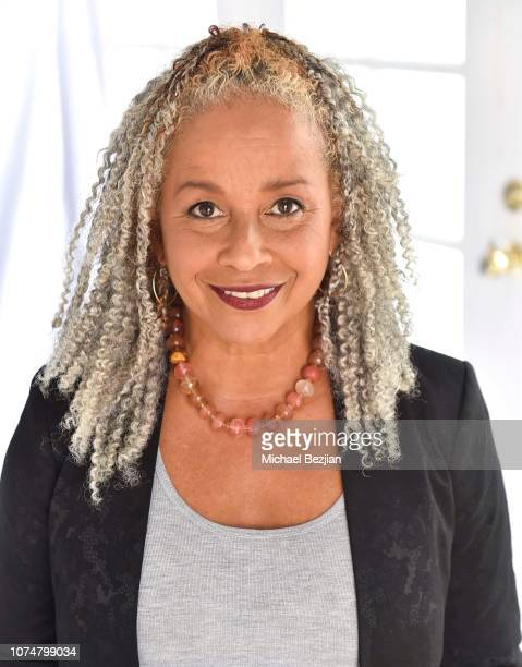 Rae Dawn Chong poses for portrait at Visual Snow Initiative Celebrates GIVINGTUESDAY At The Artists Project on November 27 2018 in Los Angeles...