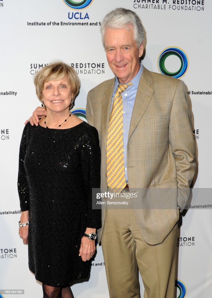 Rae Emmett and Chairman of Douglas Emmett Dan A. Emmett attends UCLA Institute Of The Environment And Sustainability's 2nd Annual 'An Evening Of Environmental Excellence' - Arrivals on March 5, 2013 in Beverly Hills, California.