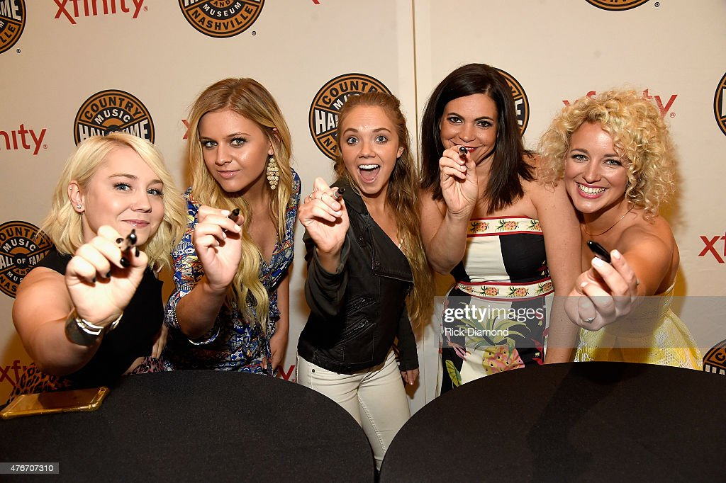 Rae Lynn, Kelsea Ballerini,Danielle Bradbery, Angaleena Presley and Cam attend the CMT's Next Women Of Country at Country Music Hall of Fame and Museum on June 11, 2015 in Nashville, Tennessee.