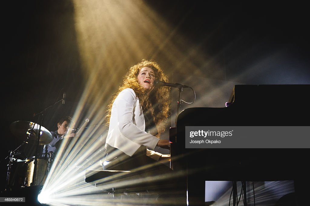Rae Morris performs on stage at Electric Brixton on February 12, 2015 in London, United Kingdom.