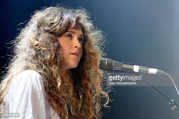 Rae Morris performs on stage at O2 Academy on March 2 2014 in Leeds United Kingdom