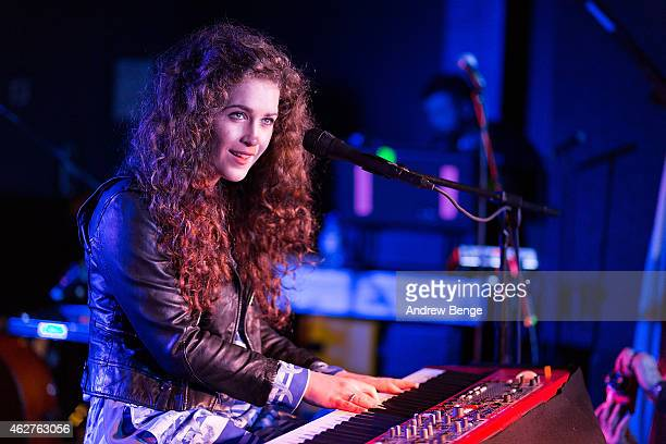 Rae Morris performs on stage at The Wardrobe on February 4 2015 in Leeds United Kingdom