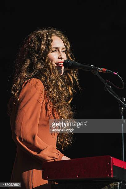 Rae Morris performs on the main stage during day 3 of Festival No 6 on September 5, 2015 in Portmeirion, Wales.