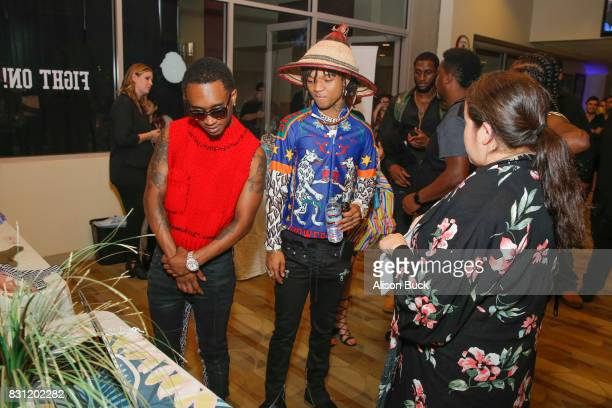 Rae Sremmurd attends Backstage Creations Celebrity Retreat at Teen Choice 2017 Day 2 at Galen Center on August 13 2017 in Los Angeles California