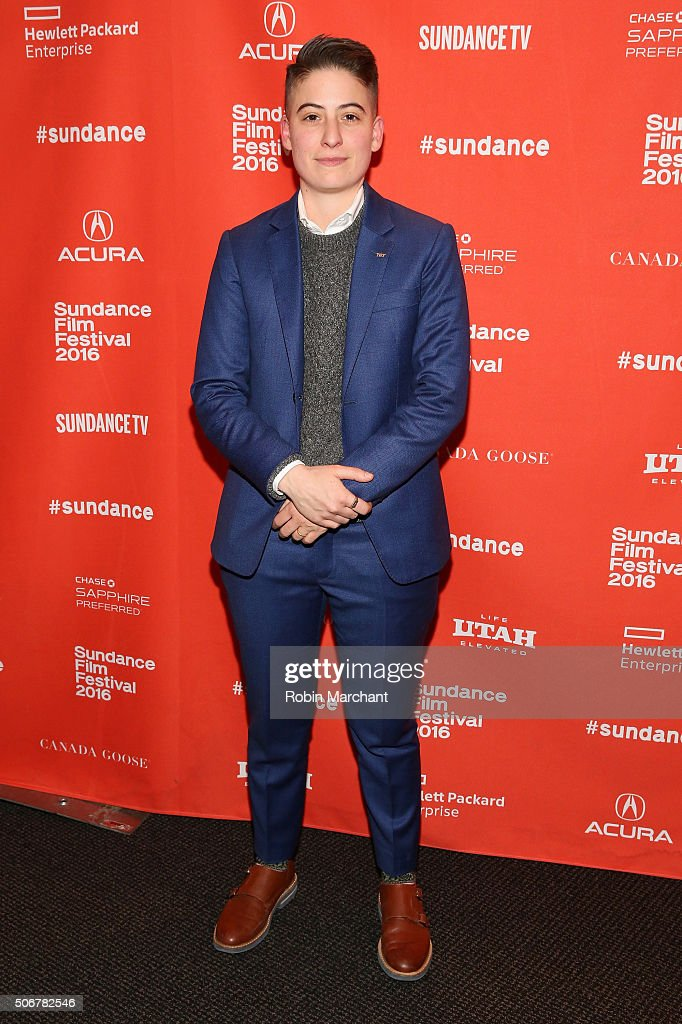 Rae Tutera attends the 'Suited' Premiere during the 2016 Sundance Film Festival at Temple Theater on January 25, 2016 in Park City, Utah.