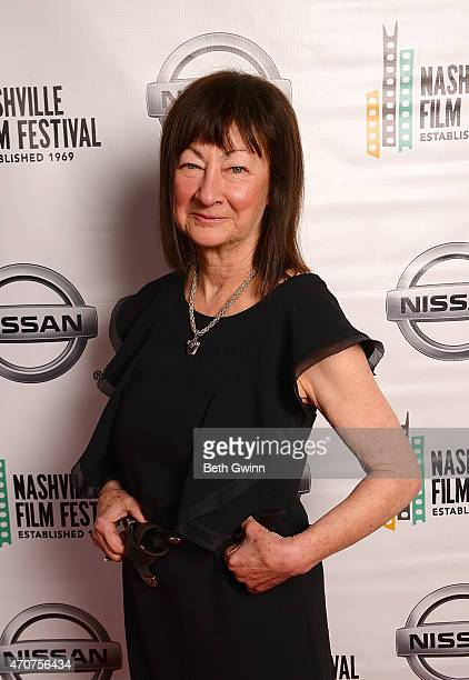 Raeanne Rubenstein of the film Country Portraits of an America Sound attend the Nashville Film Festival at Green Hills Cinema on April 22 2015 in...