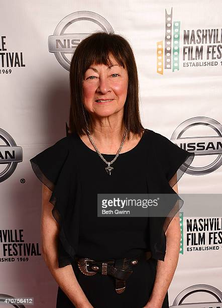 Raeanne Rubenstein of the film Country Portraits of an American Sound attend the Nashville Film Festival at Green Hills Cinema on April 22 2015 in...