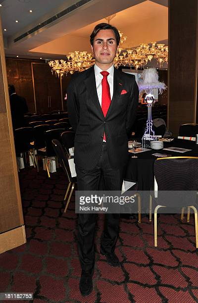 Raef Bjayou attends the Nina Naustdal Runway show following London Fashion Fashion Week SS14 at The Mayfair Hotel on September 19 2013 in London...