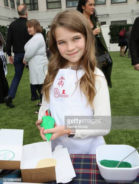 Raegan Revord attends the Brooks Brothers and St Jude Children's Research Hospital Annual Holiday Celebration at the Beverly Wilshire Four Seasons...