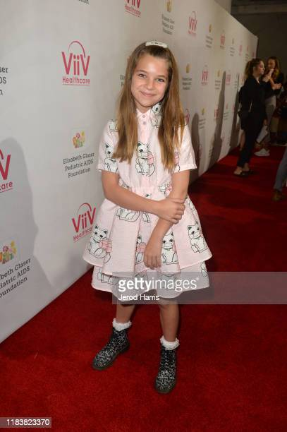 Raegan Revord attends the Elizabeth Glaser Pediatric AIDS Foundation's 30th Annual A Time for Heroes Family Festival at Smashbox Studios on October...