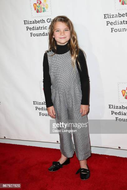 Raegan Revord attends the Elizabeth Glaser Pediatric AIDS Foundation's 28th Annual A Time For Heroes Family Festival at Smashbox Studios on October...