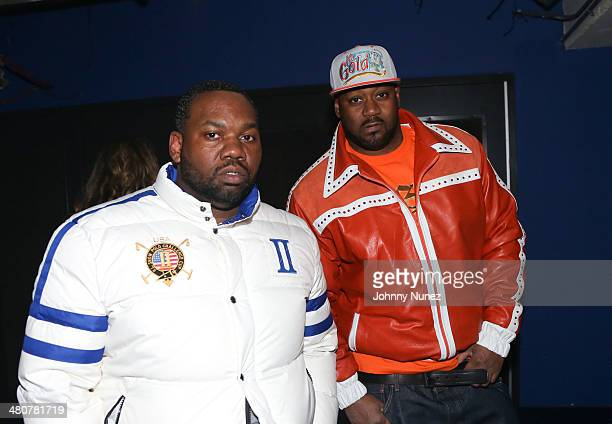 Raekwon and Ghostface Killah attend Hot 97 Presents Metro PCS Take Over Tour at Best Buy Theater on March 26 2014 in New York City