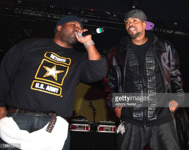 Raekwon and Ghostface Killah perform at Best Buy Theater on December 29 2010 in New York City