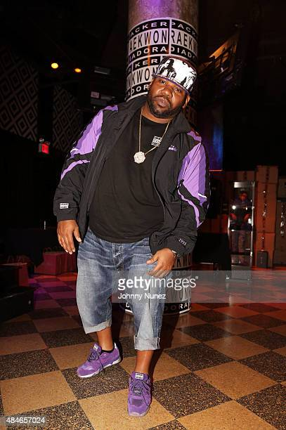 Raekwon attends his The Purple Tape 20th Anniversary Show at SOB's on August 20 in New York City