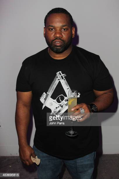 Raekwon attends Surface Magazine's DesignDialogues No 6 With Hans Ulrich Obrist Kanye West And Jacques Herzog at Moore Building on December 5 2013 in...