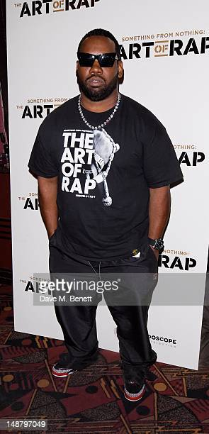 Raekwon attends The Art of Rap European premiere and concert at Hammersmith Apollo on July 19 2012 in London England