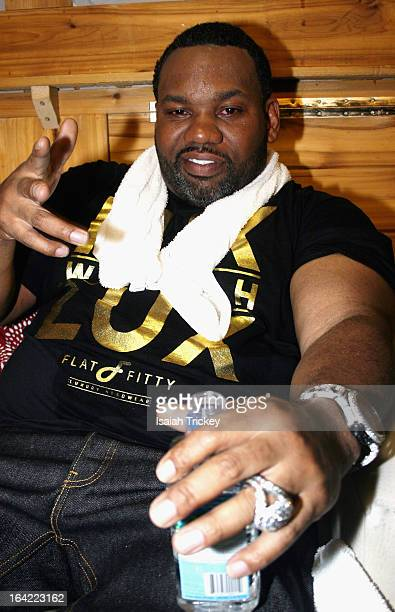Raekwon backstage at Sound Acadamy for Canadian Music Week on March 20, 2013 in Toronto, Canada.