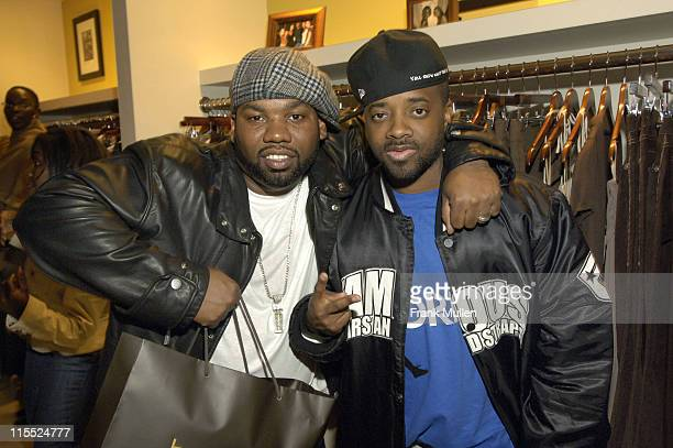 Raekwon Jermaine Dupri during Taste Clothing Boutique One Year Anniversary October 20 2006 in Atlanta Georgia United States