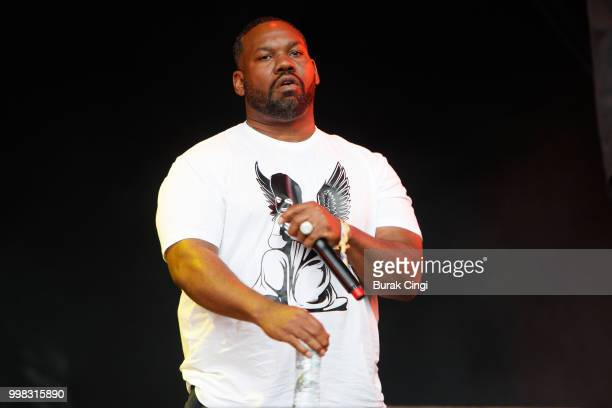 Raekwon of Wu Tang Clan performs on day 1 of Lovebox festival at Gunnersbury Park on July 13 2018 in London England