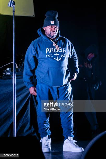 Raekwon of WuTang Clan performs on the release day of his 'The Appetition' EP during Beat Horizon at O2 Academy Brixton on January 18 2020 in London...