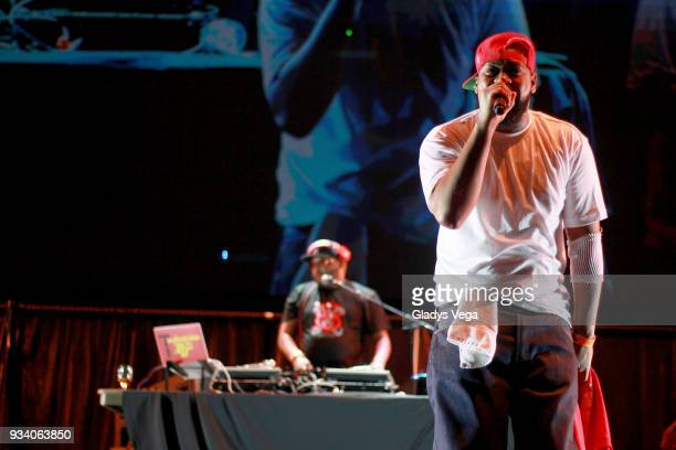 Raekwon performs as part of the benefit concert 'Power To The People' at Coliseo Jose M Agrelot on March 18 2018 in San Juan Puerto Rico