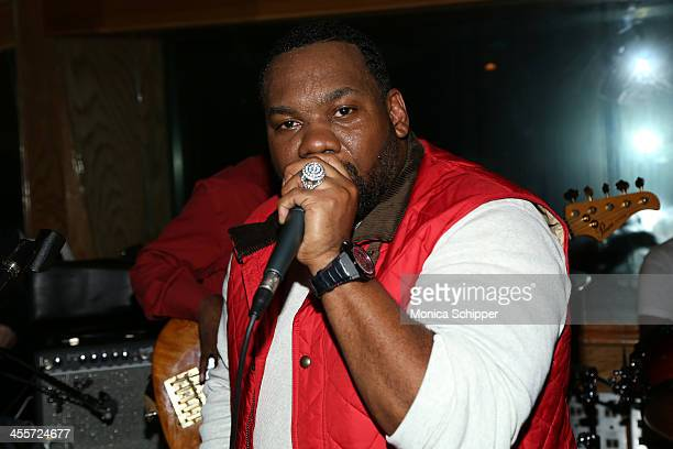 Raekwon performs at PS Underground NYC with Grammy Artists Helping Hurricane Sandy Relief hosted by Jerry Wonda and Gina de Franco at Platinum Studio...