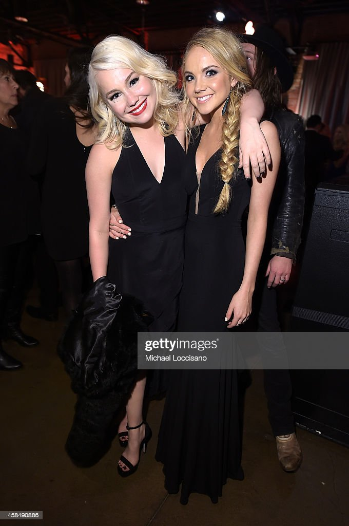 RaeLynn and Danielle Bradbery attend the Big Machine Label Group Celebrates The 48th Annual CMA Awards in Nashville on November 5, 2014 in Nashville, Tennessee.