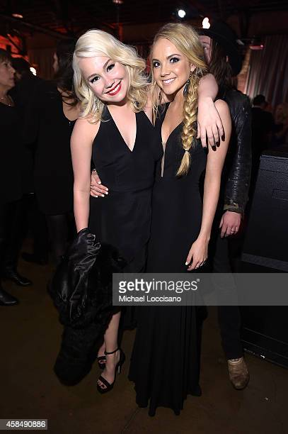 RaeLynn and Danielle Bradbery attend the Big Machine Label Group Celebrates The 48th Annual CMA Awards in Nashville on November 5 2014 in Nashville...