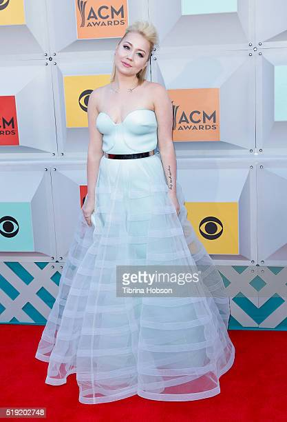 RaeLynn attends the 51st Academy of Country Music Awards at MGM Grand Garden Arena on April 3 2016 in Las Vegas Nevada