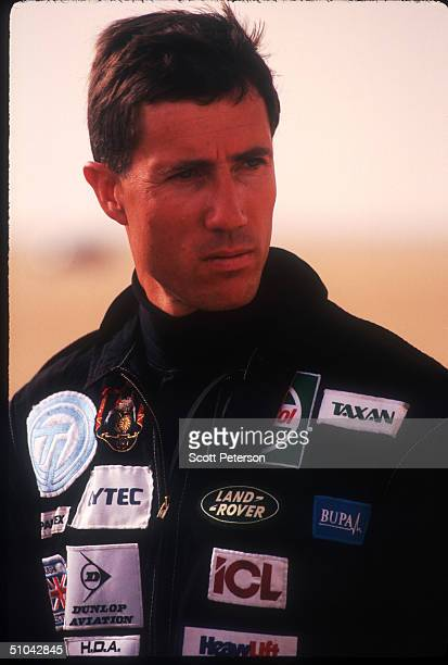 Raf Lt Andy Green Prepares To Take Off November 16 1996 On The AlJafr Desert In Jordan Green Will Attempt To Break The Speed Of Sound Without Leaving...