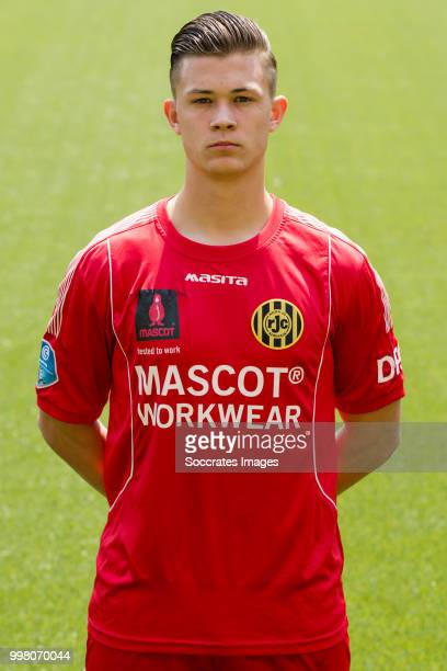 Raf Mertens of Roda JC during the Photocall Roda JC at the Parkstad Limburg Stadium on July 12 2018 in Kerkrade Netherlands