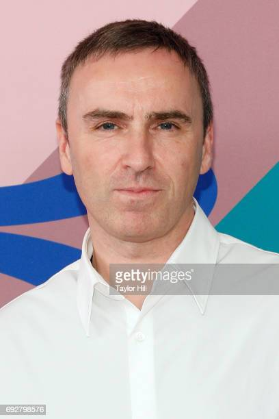 Raf Simons attends the 2017 CFDA Fashion Awards at Hammerstein Ballroom on June 5 2017 in New York City