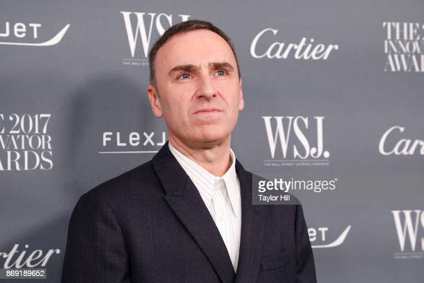 Raf Simons Pictures And Photos Getty Images