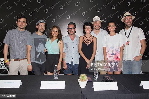 Rafa Ley Luis Gerardo Mendez Vanessa Bauche film director Manolo Caro Cecilia Suarez Carlos Bardem Angie Cepeda and Andres Tagliavini attend the...