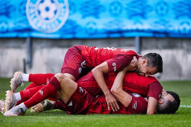 EST: FC Flora v Legia Warszawa - UEFA Champions League Second Qualifying Round: Second Leg