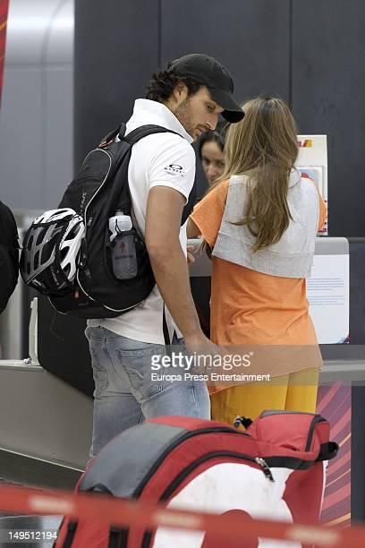 Rafa Medina and Laura Vecino are seen on July 20 2012 in Madrid Spain