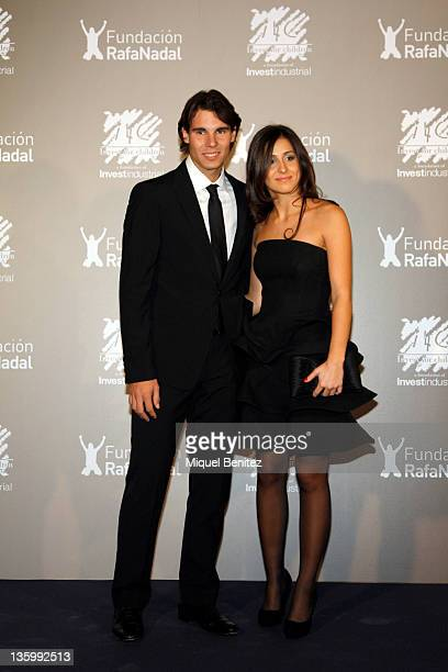 Rafa Nadal and Maria Francisca Perello Xisca attend the Juntos Por La Integracion charity gala organized by the Foundation Rafa Nadal on December 15...