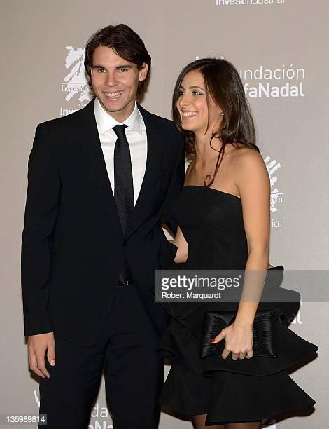 Rafa Nadal and Maria Francisca ''Xisca' Perello attend the 'Juntos Por La Integracion' charity gala organized by the Foundation Rafa Nadal on...