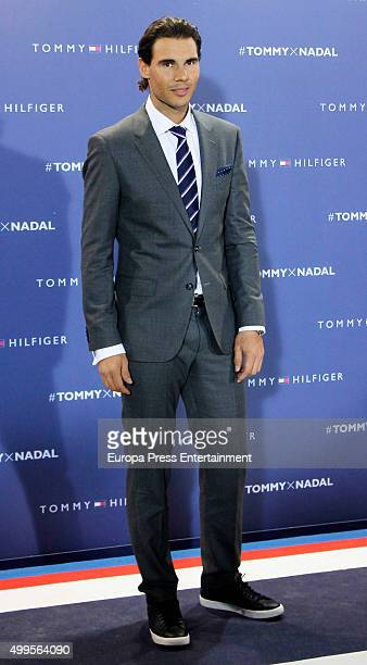 Rafa Nadal attends XXV Telva Fashion Awards 2015 at the Royal Theatre on December 1 2015 in Madrid Spain